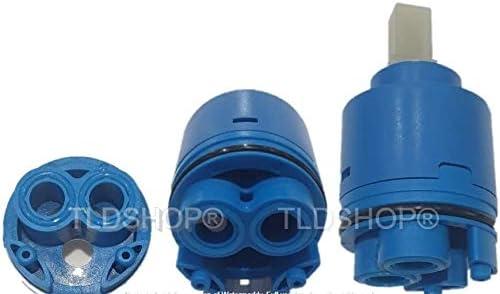 TLDSHOP cartridge 3540 mm vervanging voor mengkraan keramische cartouche