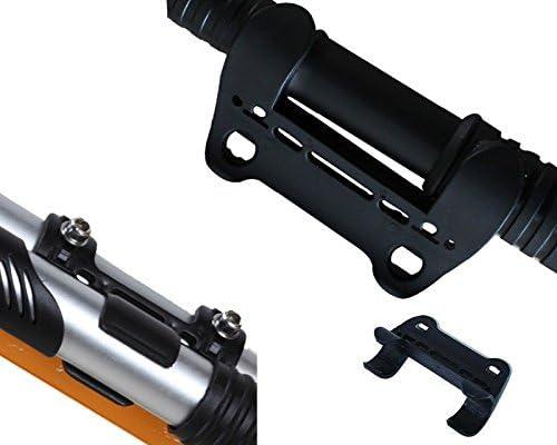 Bike Pump Frame Bicycle Pump Holder Mini Pump Retaining Black Clips Bracket L9R9