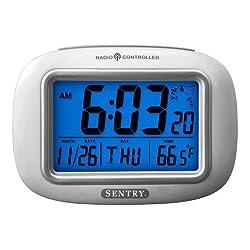 Sentry ATC30 Radio Controlled Atomic Weather Alarm Clock