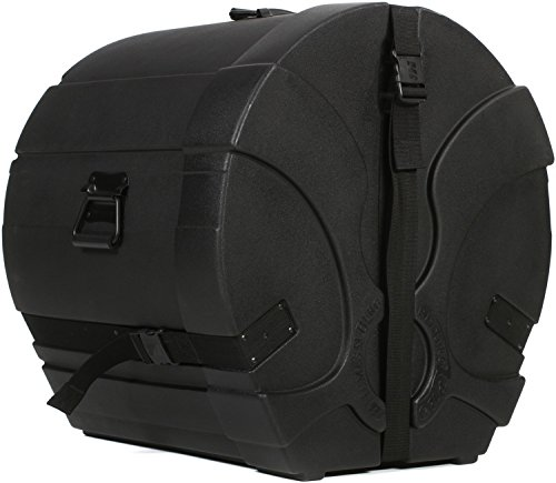 Humes & Berg Enduro Pro EP583BKSP 16 x 22 Inches Bass Drum Case with Foam (Bass Drum Case Enduro)