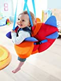 HABA Aircraft Swing – Indoor Mounted Baby Swing with Adjustable Straps, Seatbelt & Propeller for Ages 10 Months and Up
