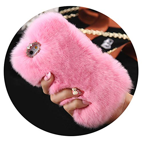 iPhone 6 6S 7 Plus 5 Fluffy Rabbit case Cover Cases for Samsung Galaxy S7 J7 2016 Note 4,Pink,for Galaxy J5 2016 (Note 4 Case Spongebob)