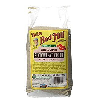 Organic Buckwheat Flour by Bob's Red Mill, 22 oz