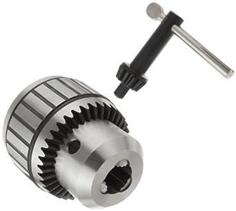 "Llambrich CBB Ball Bearing K5 Keyed Drill Chuck, 5JT Mount, 3-21/32"" Chuck Diameter, 3/16""-1"" Capacity"