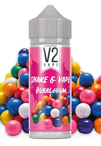 V2 Vape Shake and Vape Bubblegum | 20ml hochdosiertes Aroma-Konzentrat zum mischen mit Base für E-Liquid | Longfill, zum…