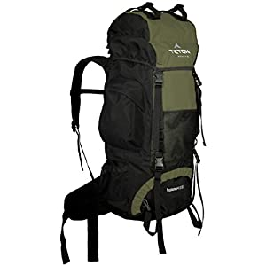 TETON Sports Explorer 4000 Internal Frame Backpack; High-Performance Backpack for Backpacking, Hiking, Camping; Hunter Green