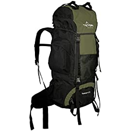 TETON Sports Explorer 4000 Internal Frame Backpack; High-Performance Backpack for Backpacking, Hiking, Camping 5 NOT YOUR BASIC BACKPACK: Continues to be a top selling internal frame backpack on Amazon at a great price for all the included features; Backpack for men and women VERSATILE BACKPACK: Just right for youth and adults for backpacking; 4,000 cubic inch (65 L) capacity; Best for 2-5 day trips; weighs 5 pounds (2.3 kg) COMFORT YOU CAN CUSTOMIZE: Multi-position torso adjustment fits wide range of body sizes; Durable open-cell foam lumbar pad and molded channels provide maximum comfort and airflow