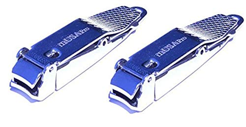 No mess nail clipper | Nail Clipper | Nail Clipper with Catcher | Catches Clippings | Made in USA (2 pack)