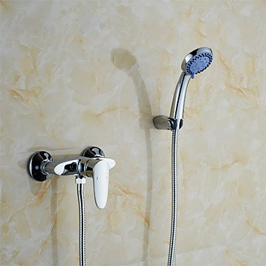 ZYT Solid brass body chrome single handle shower faucet K2051 wall mounted bathroom faucets