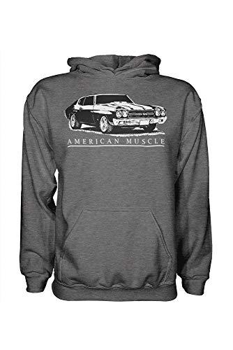 1970 Chevrolet Chevelle SS American Muscle Car Hoodie Sweatshirt
