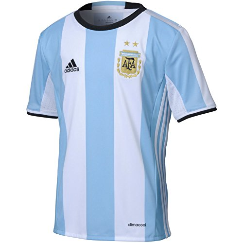 Adidas Youth Climacool Argentina Home Replica Soccer Jersey Blue/Black (Adidas Climacool Jersey)