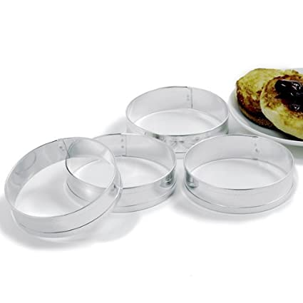 Norpro Muffin Ring Set, Set of 4