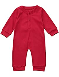 78972dea5302 Baby Christmas Outfits, Handyulong Toddler Newborn Baby Boys Girls Rompers  Jumpsuit Clothes