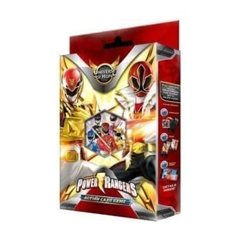 how to play power rangers action card game