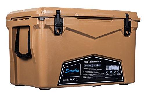 Seavilis Heavy Duty Rotomolded Cooler [60 Quart]
