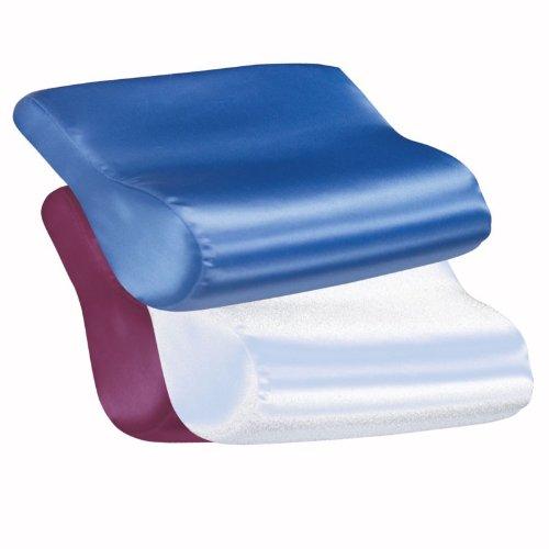 Contour Pillow Satin Cover Orthopedic