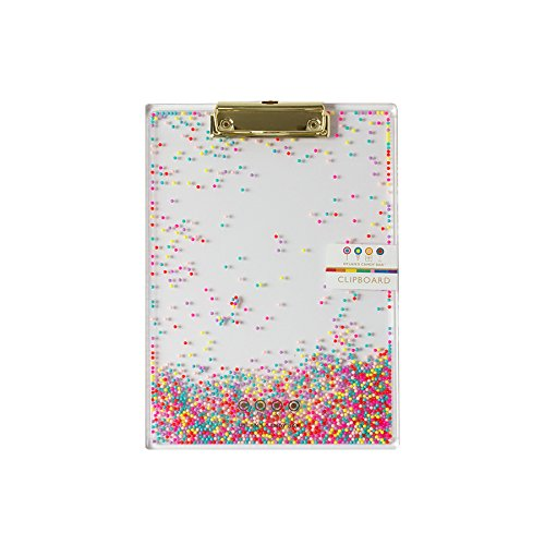 (Dylan's Candy Bar IG101015 Candy Sprinkles Clipboard,)