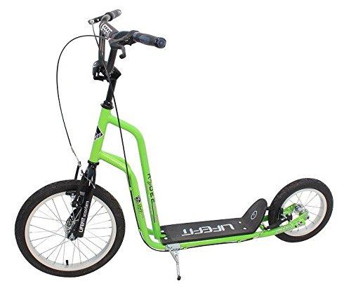 Lifefit Patinete Rider Verde Verde Talla:16/12 Zoll: Amazon ...