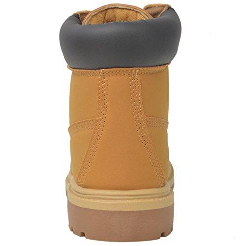 da Misure Diversi Scarponi Uomo vidaXL Scarponcini Colori e Stivaletti Scarpe Cammello 64wq6IYz
