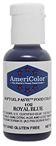 Americolor Soft Gel Paste Food Color, Royal Blue