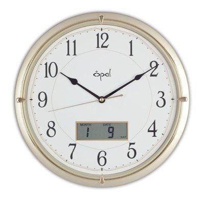 Ana Digi Display - Opal Ana-Digi Clock Color: Champagne
