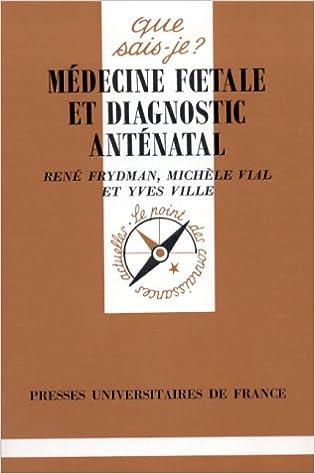Médecine foetale et diagnostic anténatal epub, pdf