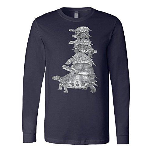 Box Turtle Long Sleeve Shirt - I Love My Box - Burberry Kids Clothing