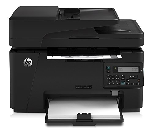 HP Laserjet Pro M127fn Networked All-in-One Monochrome Printer, (CZ181A) (Basic Printer Hp)