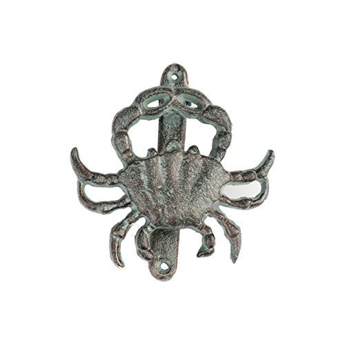 Gallerie II Crab Door Tropical Coastal Knocker