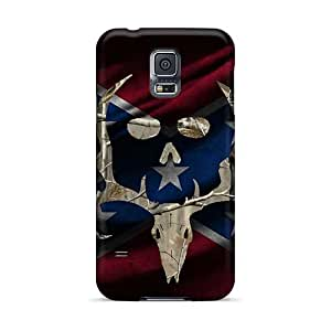 High Quality Hard Phone Cases For Samsung Galaxy S5 (VZw25008lUOx) Unique Design High Resolution Rebel Bone Collector Pictures