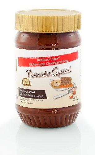 Amazon nocciola spread low sugargluten free hazelnut and nocciola spread low sugargluten free hazelnut and cocoa spread 16 oz jar negle Choice Image