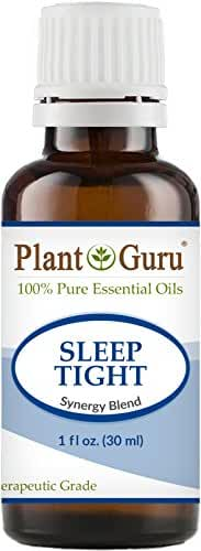 Sleep Tight Synergy Essential Oil Blend 30 ml. 100% Pure Undiluted Therapeutic Grade Good Night Aid, Relaxation, Depression, Stress, Anxiety Relief, Mood, Uplifting, Calming, Aromatherapy