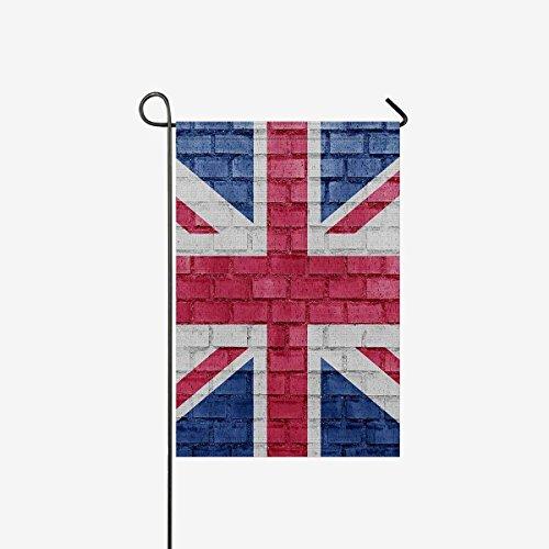 Pretty Lee United Kingdom  Union Jack Flag on a Brick Wall D