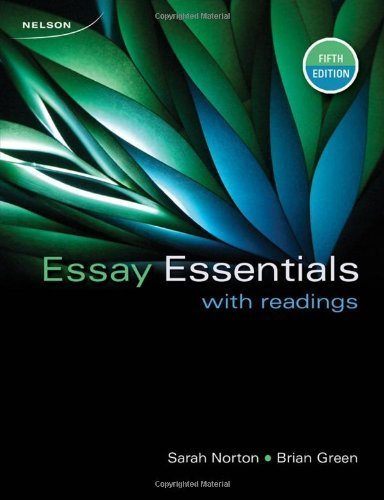 essay essentials with readings 5th edition Resume online maker parenting style research papers abbotsford school of  integrated arts homework book report on samuel adams short essay on saving.