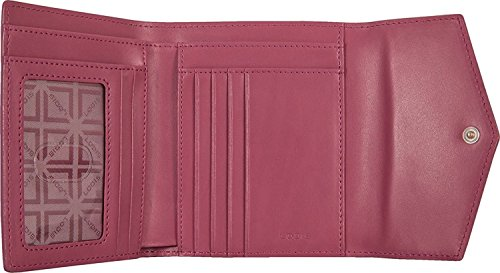 Lodis Audrey Premier Lana French Purse (Iced Violet/Beet)