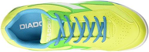 Diadora Quinto6 Tf, Botas de Fútbol para Hombre Giallo (Giallo Fluo/Blu Fluo/Verde Flu)