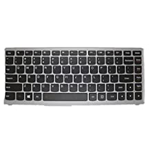 Laptop keyboard For LENOVO IDEAPAD N580 N581 N585 N586 With Black frame US united states edition