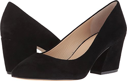 botkier Women's Stella Block Heel Pumps, Black, 9.5 Medium US
