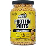 Twin Peaks Low Carb, Allergy Friendly Protein Puffs, Garlic Parmesan (300g, 21g Protein, 2g Carbs, 130 Cals)