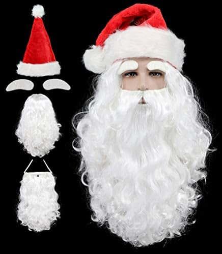 Silkis Santa Hat Long Christmas Hats for Adults Xmas Red Santa Hats