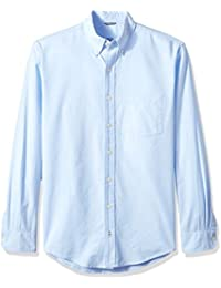 IZOD Men's Big and Tall Long Sleeve Oxford Solid Shirt