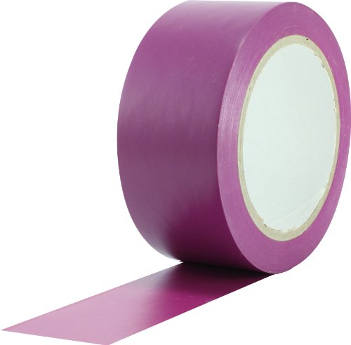 ProTapes Pro 50 Premium Vinyl Safety Marking and Dance Floor Splicing Tape, 6 mils Thick, 36 yds Length x 2 Width, Purple (Pack of 1)