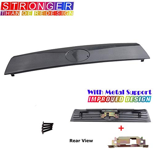 For 05-10 Scion Tc Rear Hatch Handle Trunk Tailgate Lid Racing Carbon Fiber Look B3721BS 05 06 07 08 09 10