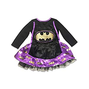 Warner Brothers Baby Baby Girls Batgirl Dress With Cape