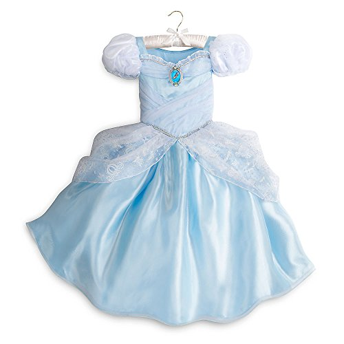 [Disney Cinderella Costume for Kids Size 5/6 Blue428410197019] (Cinderella Costumes For Girl)