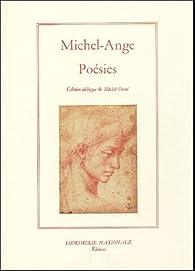 Poésies par  Michel-Ange