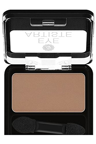 Womens Makeup Artiste 18 Colors Assorted Matte & Shimmer Single Eyeshadow AEAS (AEAS07 Dulce Brown (Matte))
