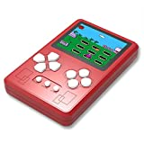 """Beico Handheld Game Console for Kids Built in 318 Classic Retro Video Games 2.5"""" Screen Portable Arcade Gaming Player System Boys Girls Birthday Gift (Red)"""
