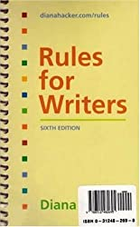 Rules for Writers 6e & Writing Across the Curriculum Package