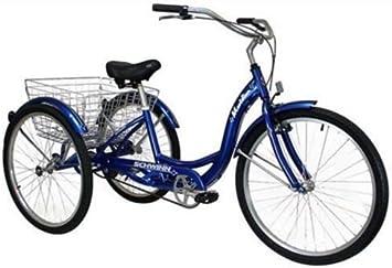 Adultos Schwinn triciclo Triciclo Tres (3) con ruedas hombre mujer ...